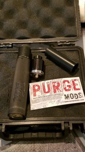 WTS – Purge knurled truck / Bonza rda | Mech Mods for sale | Vape