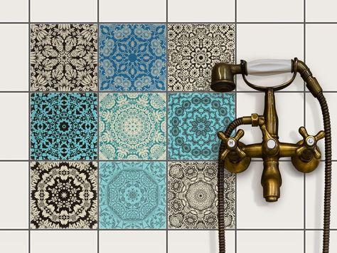 meilleure qualité dernières tendances artisanat exquis Sticker Carrelage Autocollant | Protection moderne ...