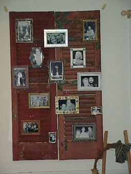 a pile of ideas to do with old window shutters!  AWESOME!
