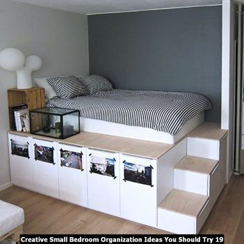 Creative Small Bedroom Organization Ideas You Should Try Engineering Basic Small Bedroom Ideas For Couples Bedroom Storage For Small Rooms Small Room Bedroom