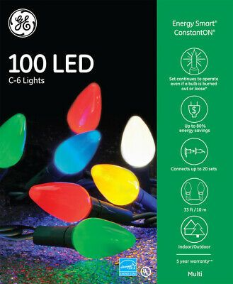 Pack Of 100 Replacement Light Bulbs Item V471750 Color Opaque Multi Color Multi Color C With Images Christmas Light Bulbs Christmas Lights Christmas Lights Indoor Decor