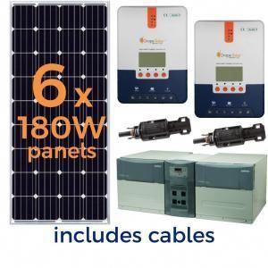 45 Watt Harbor Freight Solar Kit Let S See What Will Run P Solar Kit Solar Power House Solar Panels