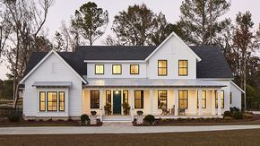 Whiteside Farm House Plans Farmhouse Southern Living House Plans Southern House Plans