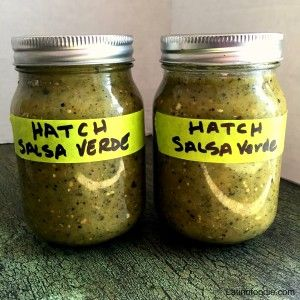 A Delicious Hatch Salsa Verde Recipe That S Perfect As A Dip Or To Slow Cook With Pork Or Make Green Salsa Verde Recipe Green Chile Recipes Hatch Chile Recipes