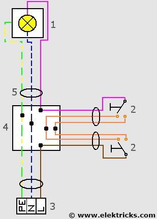 Schema 3 Allpoliger Lageplan Elektro Steckdosen Und Lichtschalter Schaltplan