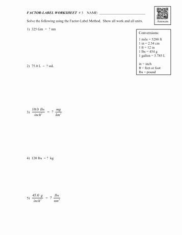 50 Dimensional Analysis Worksheet Answers Chemistry In 2020 With