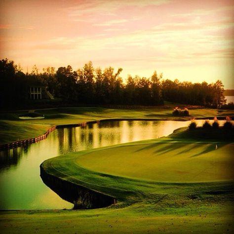 Sunset @ Golf course!