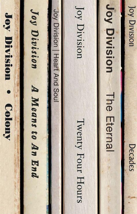 Joy Division Closer Album Come Libri Poster Stampa With Images