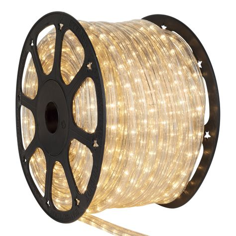 12 Volt Rope Lights 150 Clear Rope Light Commercial Spool Christmas Lights Etc Led Rope Lights Christmas Rope Lights Rope Light