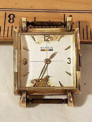 Antique Benrus Watch 17 Jewels