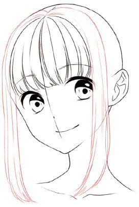 キャラクターの個性や特徴を表現するために 髪の毛は欠かすことのできないパーツです たとえいい表情が描けても 髪 がうまく描けないとキャラクターの魅力は引き立ちません 今回は 男女それぞれの基本的な髪の描き方を 前側 Dessin De Visage Dessin De Visages