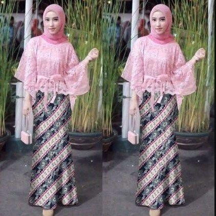 Tutorial Hijab Segi Empat Untuk Kebaya Kutu Baru Id Lif Co Id