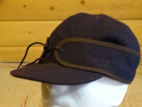 1cbc743044b Men s Stormy Kromer Original Wool Cap BLACK SIZES 6 7 8 NEW