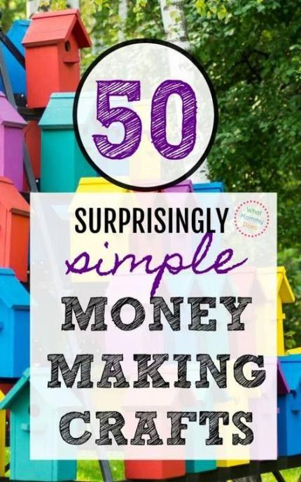 33 Ideas Craft Ideas To Make Money People For 2019 Craft Money