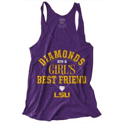 LSU Diamonds Baseball Tank