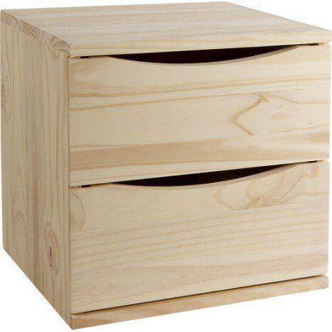bloc tiroir solo pin l 36 x p 30 x h