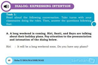 Jawaban Soal Task 1 Chapter 3 Halaman 40 42 Bahasa Inggris Kelas 10 Terjemahan Bahasa Bahasa Inggris Inggris