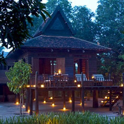 Amansara Khmer House Siem Reap Cambodia Wooden House