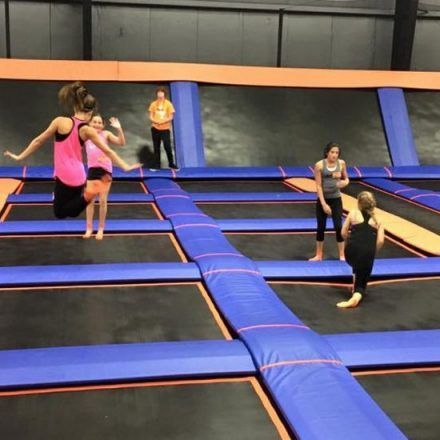 Sky Zone Trampoline Park Game And Entertainment Centers Take Time For Bestthings Io Bestthings Bestthingsio Sky Zone Park Games Trampoline Park