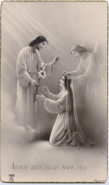 "Inveni quem diligit anima mea - ""I sought Him Who my soul loveth"""