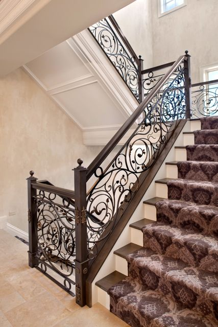 Interior Ironwork With Images Interior Railings Staircase