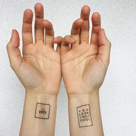 Resultado de imagem para the 1975 tattoo #CoolTattooLife