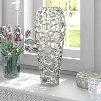 Bratten Aluminum Branch Table Vase Table Vases Vases Decor Vase