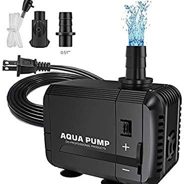 Upmct 60 400 Gph Adjustable Submersible Water Pump Ultra Quiet High Lift Detachable Cleanable Water Pump With 2 Nozzles For A In 2020 Statuary Amazonas Amazon Fashion
