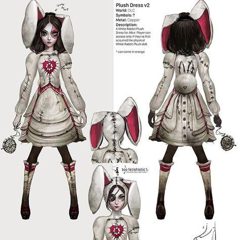 Girl Suche Monster Alice Wonderland