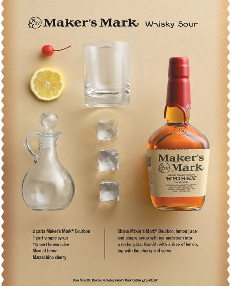 A whiskey sour is a staple in all bourbon households. Try this recipe for a good classic cocktail.