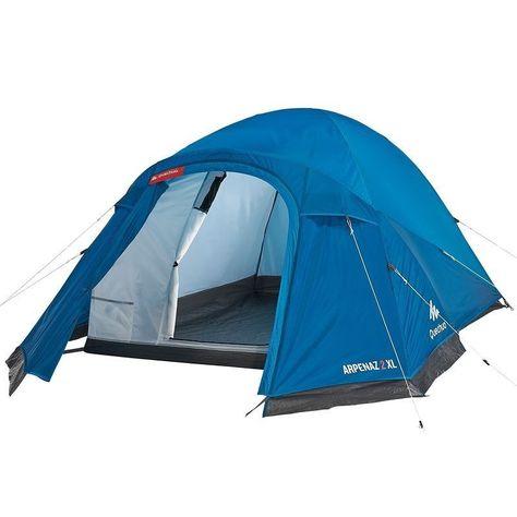 Tente Arpenaz Xl 2 Bleu 2 Personnes Camping En Tente Materiel Camping Bleu
