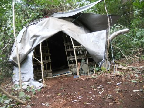 Bender gypsy tent survival tarp shelter prepper & Gypsy bender tent survival shelter wiki wigwam tarp | Survival ...