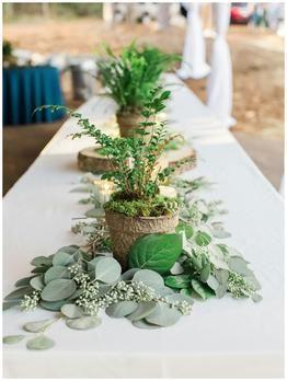 Garden Wedding Centerpieces Nature Inspired Wedding Nature Wedding Greener Garden Wedding Centerpieces Greenery Wedding Centerpieces Wedding Centerpieces