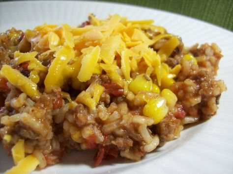 Make and share this Skillet Fiesta Dinner recipe from Food.com.