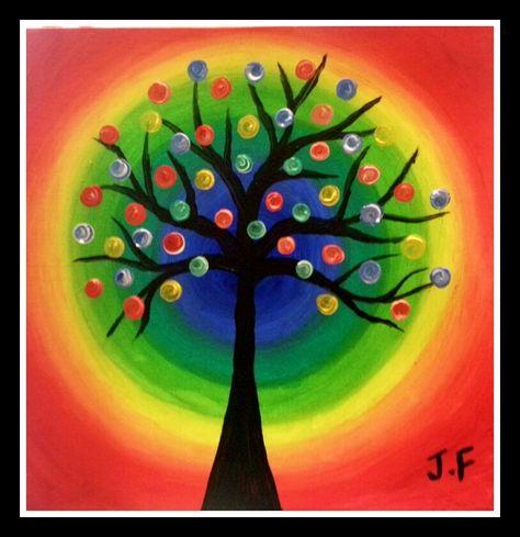 Art Jamming 5 Rainbow Tree