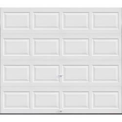 Ideal Door Traditional 8 X 7 White Insulated Garage Door R