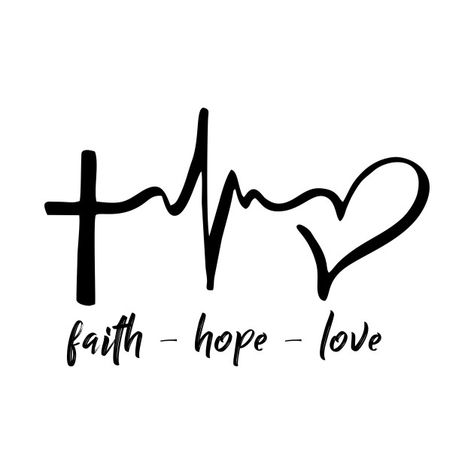 Check out this awesome 'Faith-Hope-Love' design on @TeePublic!