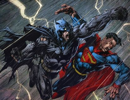 caricaturas batman vs superman espanol