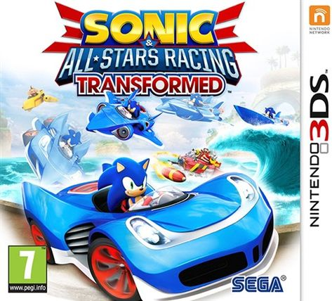 Sonic All Stars Racing Transformed Cex Uk Buy Sell Donate Nintendo 3ds All Star Sonic