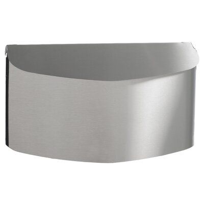 Pro Df Stainless Steel Wall Mounted Mailbox In 2020 Wall Mount Mailbox Steel Wall Stainless Steel Mailbox