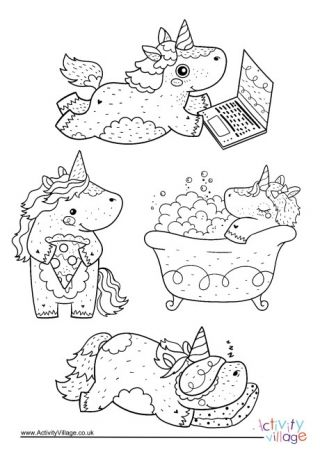 Unicorn Colouring Pages Unicorn Coloring Pages Cool Coloring Pages Unicorn Illustration