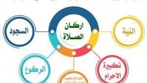 أركان الصلاة Prayers Pie Chart Chart