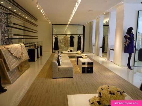 Chanel store Fashion Atelier Pinterest