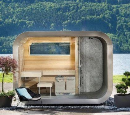 Comment Construire Un Sauna Exterieur Soi Meme De A A Z En 2020 Sauna Exterieur Construire Un Sauna Design Exterieur