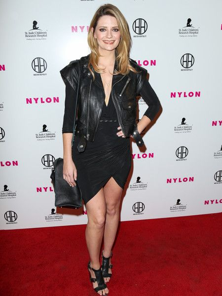Mischa Barton is seen attending NYLON Magazine's Muses And Music Party at No Vacancy.