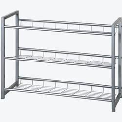 Haku Mobel Schuhregal Silber 3 Fachboden Hakuhaku Schuhablage Garten Haku Mobel Schuhregal Silber 3 Fachboden Ha In 2020 Metal Shoe Rack Shoe Rack Shoe Rack Furniture
