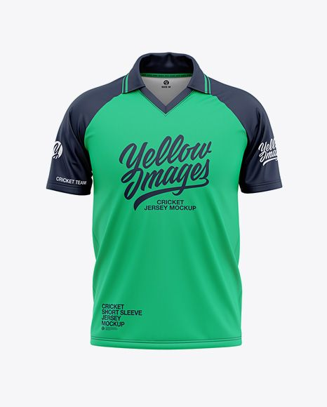 Download Men S Raglan Short Sleeve Cricket Jersey Polo Shirt Back View Of Soccer Jersey In Apparel Mockups On Yellow Images Object Mockups Shirt Mockup Clothing Mockup Men Short Sleeve