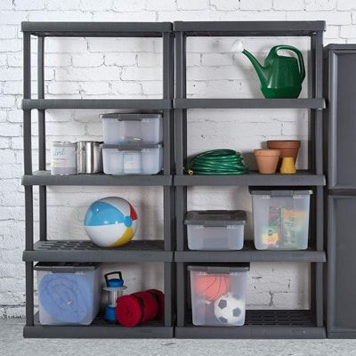 Top 10 Best Plastic Storage Unit Shelves In 2020 Plastic Storage Units Sterilite Shelves