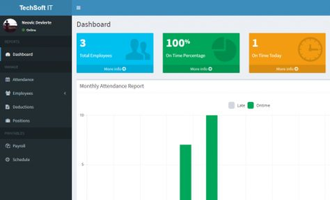 Employee Attendance And Payroll System Using Php Already Made