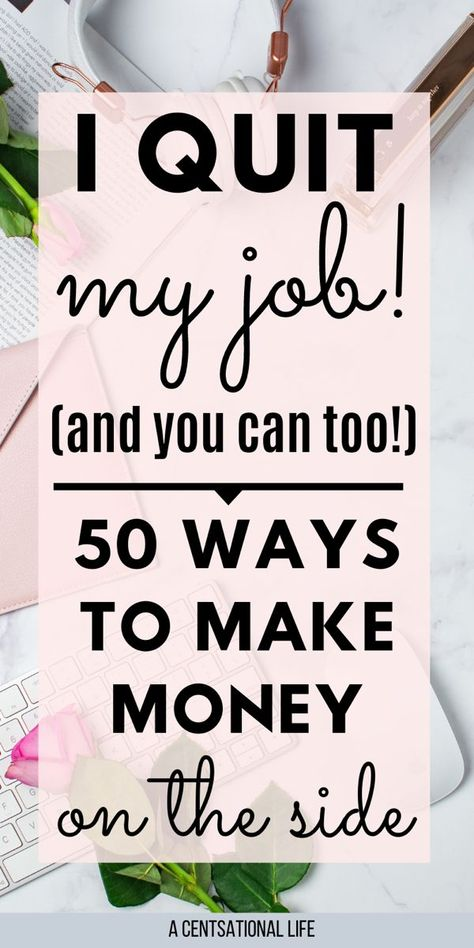 50 Creative Side Hustles To Make $100 Dollars A Day - A CENTSational Life